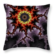 Rough Night Throw Pillow