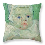 Roulin's Baby Throw Pillow