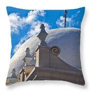 Round Dome Throw Pillow
