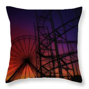 Round N Round Throw Pillow