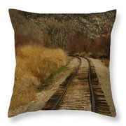 'round The Bend Throw Pillow