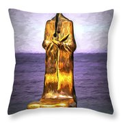 Roundabout Of The Sea Throw Pillow