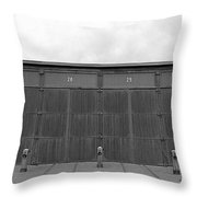 Roundhouse Depot Throw Pillow