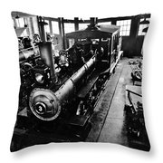 Roundhouse Working No. 3 Throw Pillow