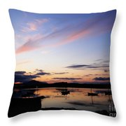 Roundstone Harbour Throw Pillow