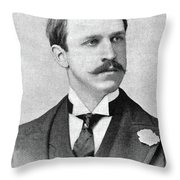 Rounsevelle Wildman (1864-1901) Throw Pillow