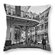 Rouses Market Monochrome Throw Pillow