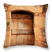 Roussillon Door Throw Pillow