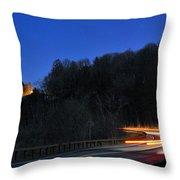 Route 6 Blur Throw Pillow