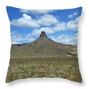 Route 66 - Arizona Mountain Throw Pillow