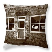 Route 66 Cafe 8 Throw Pillow