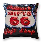 Route 66 Gifts Throw Pillow