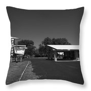 Route 66 - Western Motel 8 Throw Pillow