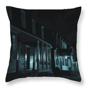 Row Homes Throw Pillow