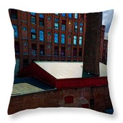 Roy Hill Mill  Throw Pillow