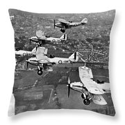 Royal Air Force Formation Throw Pillow