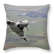 Royal Air Force Typhoon Fgr4 Throw Pillow