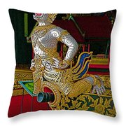 Royal Barges Museum In Bangkok-thailand Throw Pillow