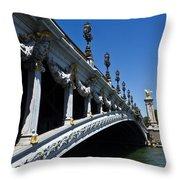 Royal Bridge Throw Pillow