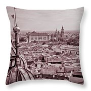 Royal Castle Throw Pillow