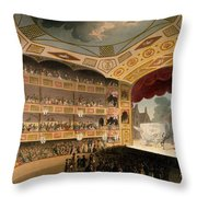 Royal Circus From Ackermanns Repository Throw Pillow