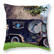Royal City Paddy Wagon Throw Pillow