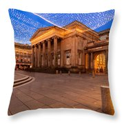 Royal Exchange Square At Borders Throw Pillow