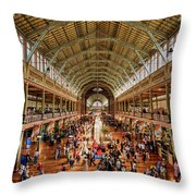 Royal Exhibition Building IIi Throw Pillow by Ray Warren