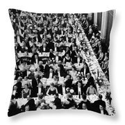 Royal Geographical Society Throw Pillow by Underwood Archives