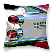 Royal Lancer - Posterized Throw Pillow