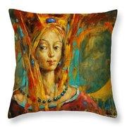 Royal Muse Throw Pillow