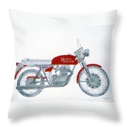Royal Oil Throw Pillow
