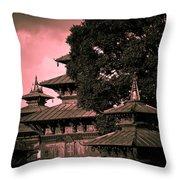 Royal Palace Throw Pillow by Nila Newsom