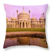 Royal Pavilion In Brighton England Throw Pillow