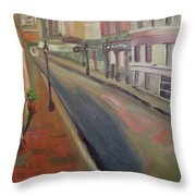 Royal Steet I Throw Pillow by Lilibeth Andre