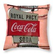 Royal Street  Throw Pillow