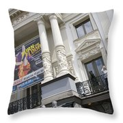Royal Theatre Carre Amsterdam Throw Pillow