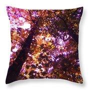 Royal Trees Series 1 Throw Pillow