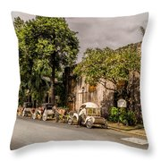Royal Warehouse  Throw Pillow