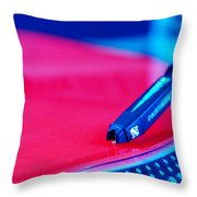 Royall Groove In Vertical Format Throw Pillow