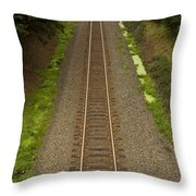 Rr Track Wa 1 Throw Pillow