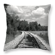 Rr X-ing Throw Pillow