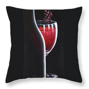 R.s.v.p. Requested Throw Pillow by Sandi Whetzel
