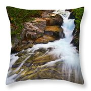 Ruby Falls 3 Throw Pillow
