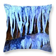 Ruby Falls Cavern Throw Pillow