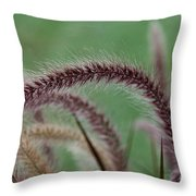 Ruby Fingers Throw Pillow