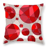 Ruby Tuesday Throw Pillow