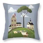 Ruby's Boarding House Throw Pillow