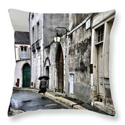 Rue A Chartres Throw Pillow