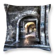 Rue De Bearn Throw Pillow